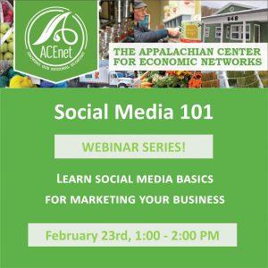 Social Media 101 Webinar