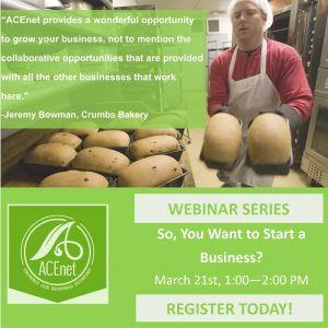 Free Webinar: So You Want to Start a Business?