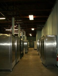 Cooler/freezer storage space for rent